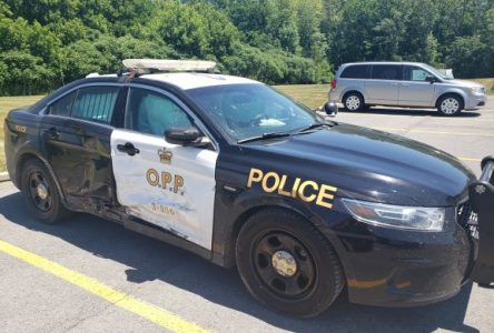 Teen steals car, smashes OPP cruiser during chase