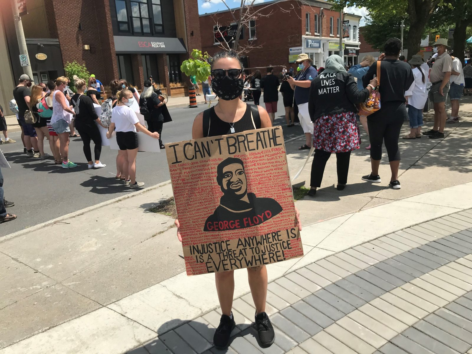 SLIDESHOW: Peaceful Black Lives Matter demonstration in Cornwall
