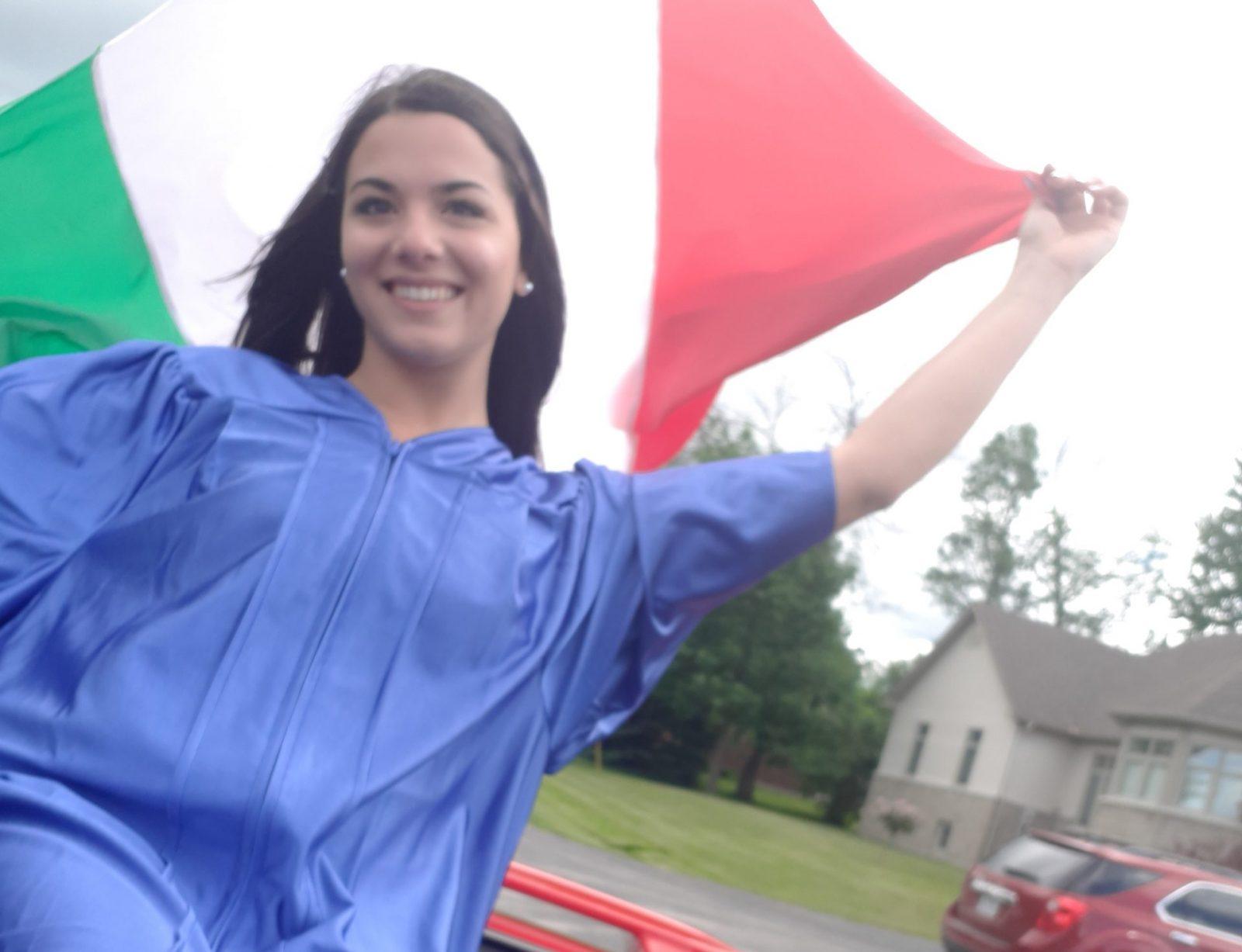 Community celebrates international student