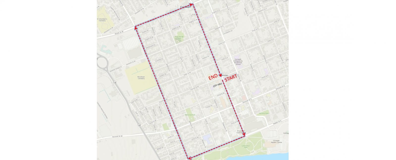 Police provide street plan for protest