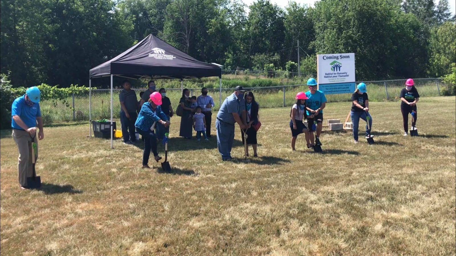 Habitat for Humanity breaks ground on new Cornwall home