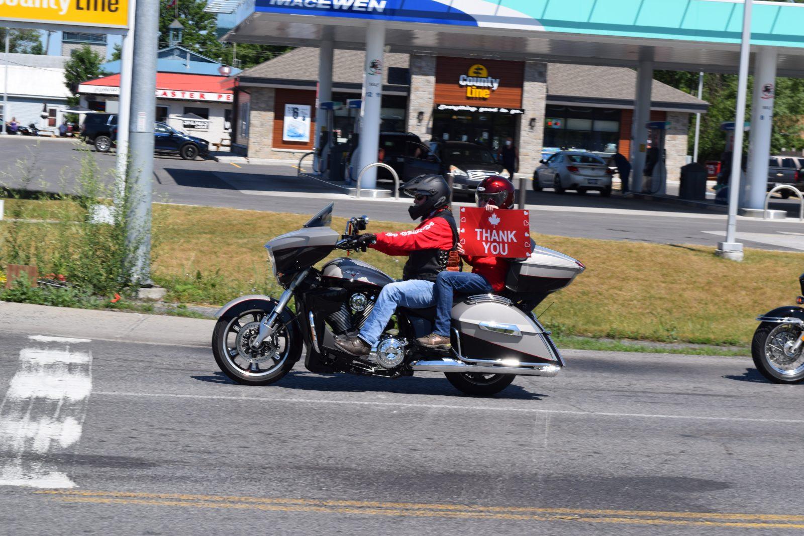 SLIDESHOW: Honour Ride through rural communities
