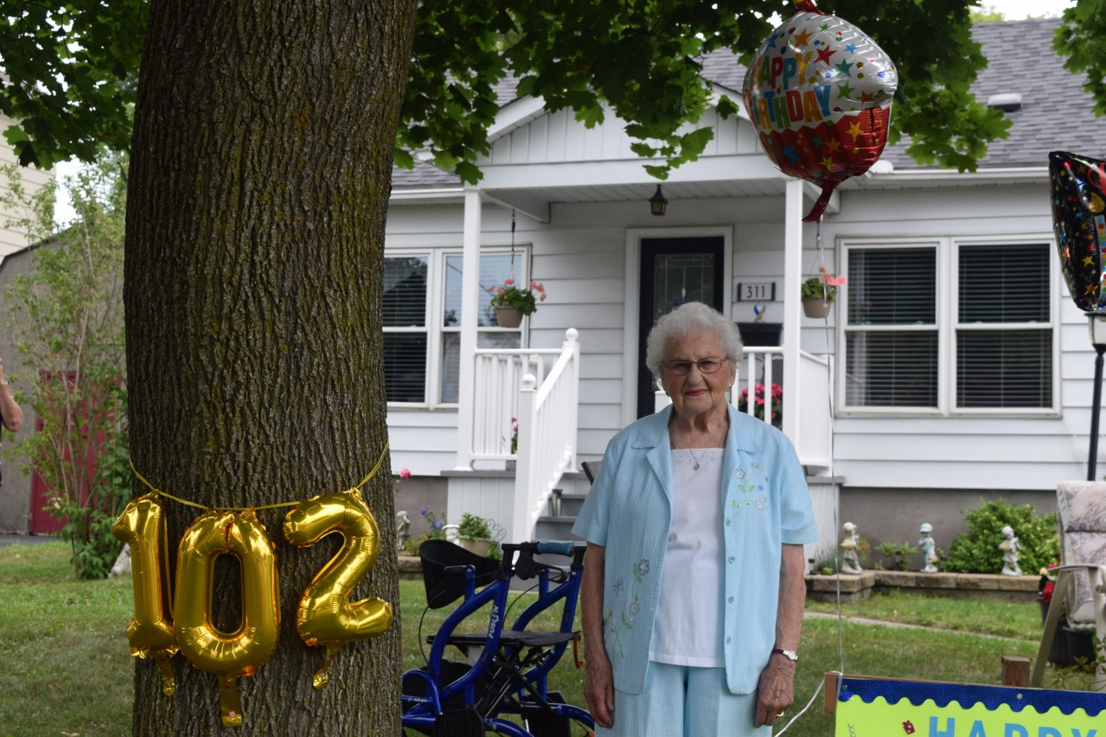 102 and still going strong