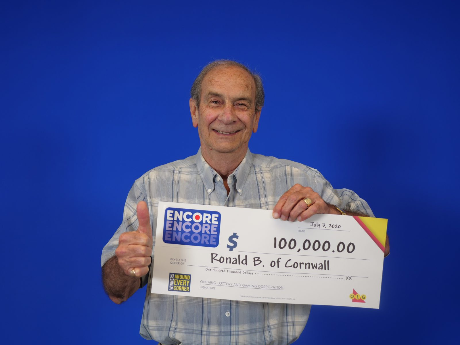 Retired crossing guard wins lotto ENCORE