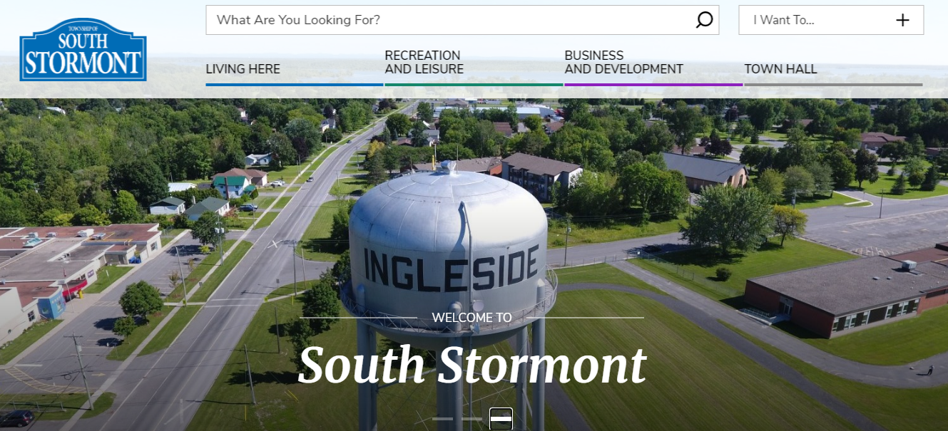 South Stormont launches new website