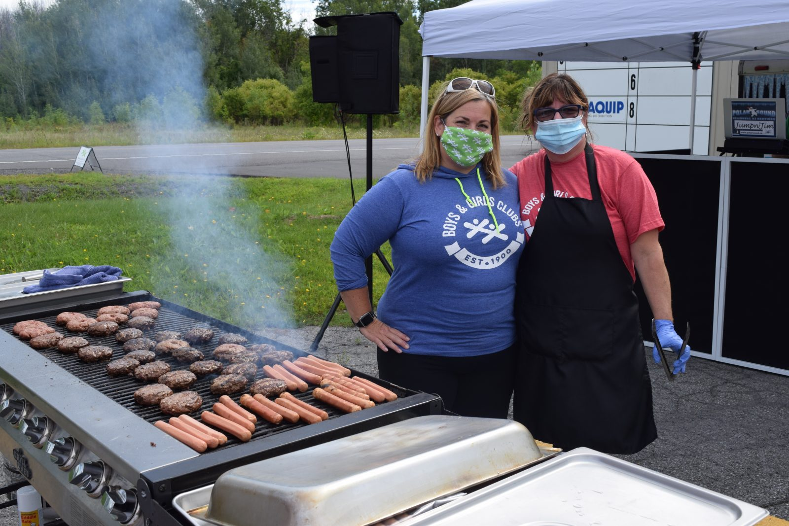 Sizzlin support for Boys and Girls Club