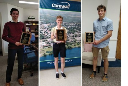 Three young athletes recognized with Ontario Legacy Award