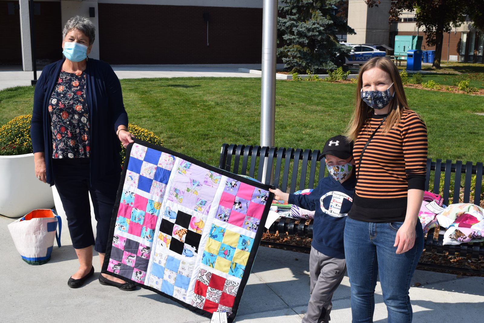Quilts helping kids heal