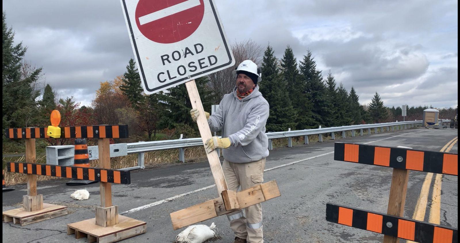 UPDATE: Gray's Creek Bridge now open