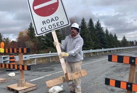 UPDATE: Gray's Creek Bridge now open