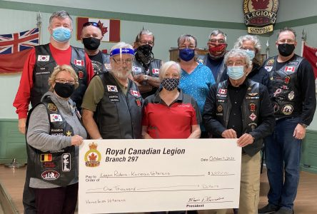 Cornwall Legion supports homeless veterans