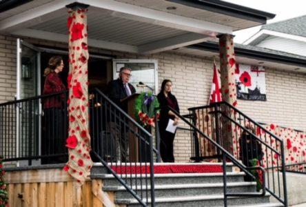 Lahaie & Sullivan honour Remembrance Day
