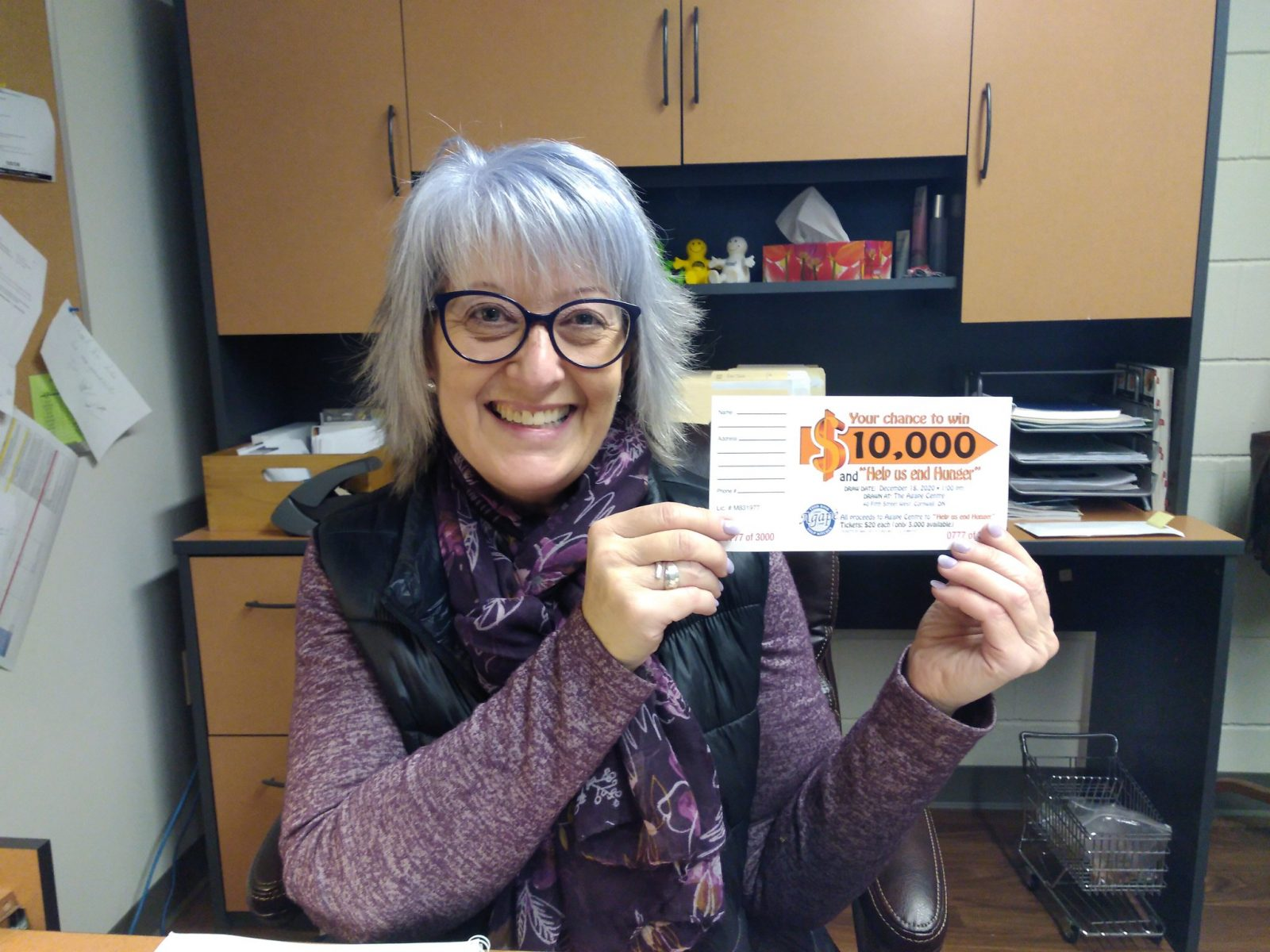 "Agapè Centre launches $10,000 ""Help Us End Hunger"" fundraising draw"