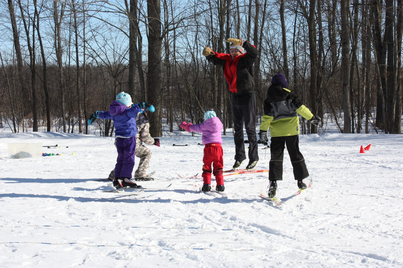 Learn to cross-country ski at Summerstown Trails
