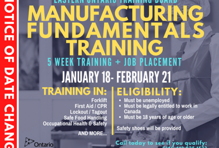 EOTB offering manufacturing fundamentals training