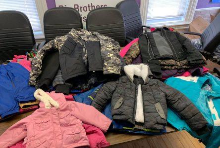 SLC students donate coats to Big Brothers/ Big Sisters