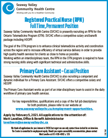 Registered Practical Nurse (RPN) and Primary Care Assistant