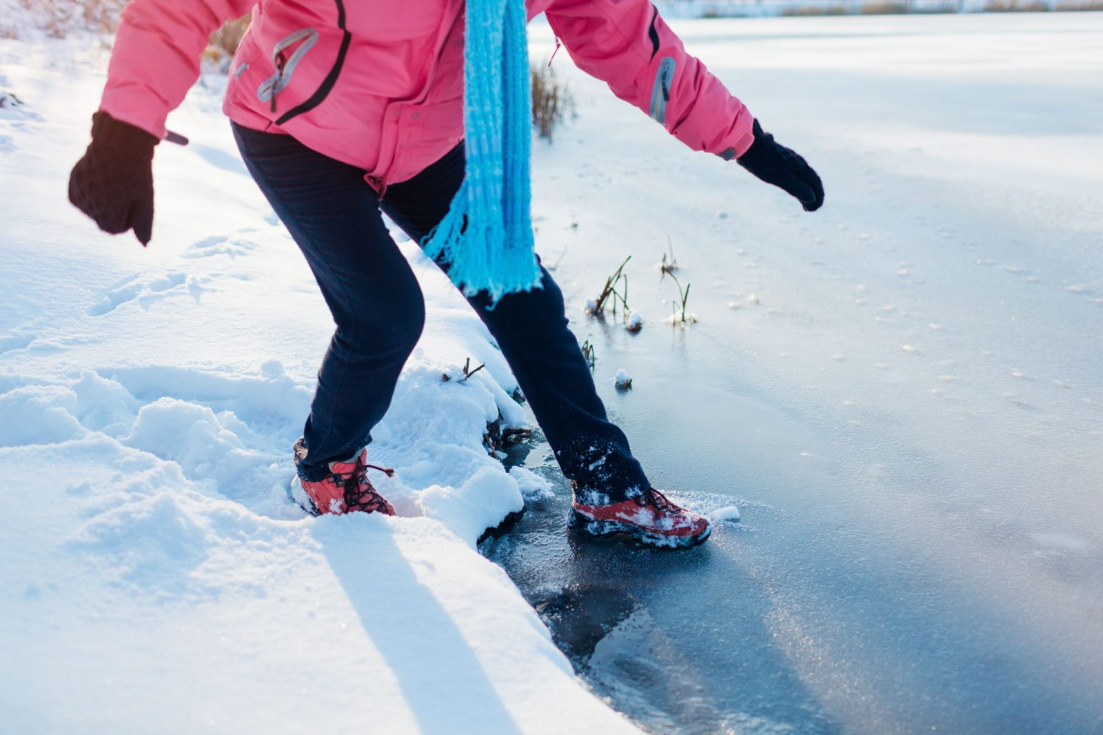 SNC Reminds Residents to Be Cautious of Ice Conditions