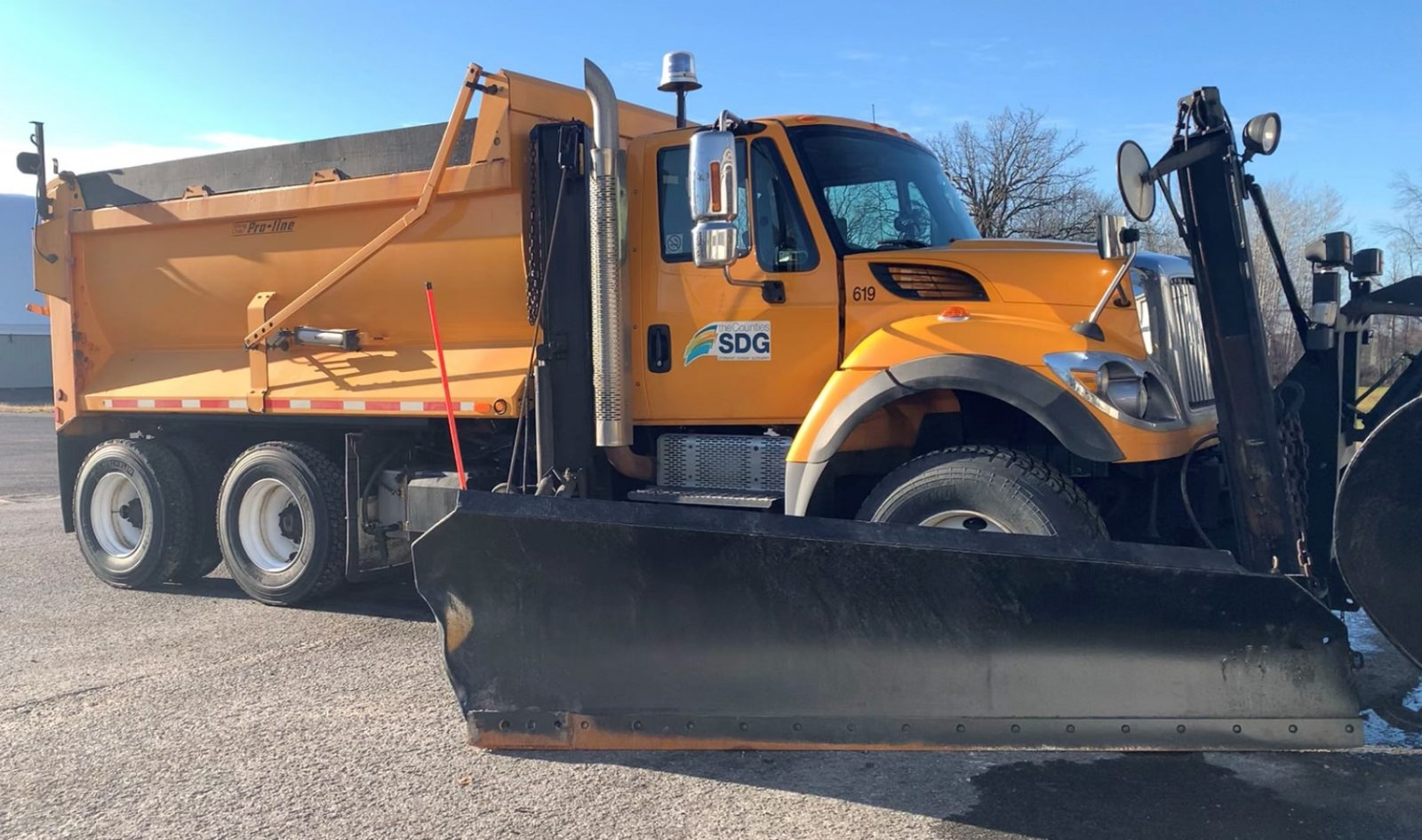 Name a United Counties snow plow