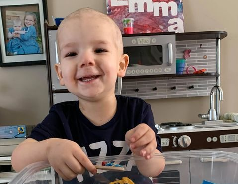 Community fundraisers support child fighting cancer