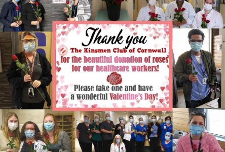 Kinsmen show kindness to CCH for Valentine's Day