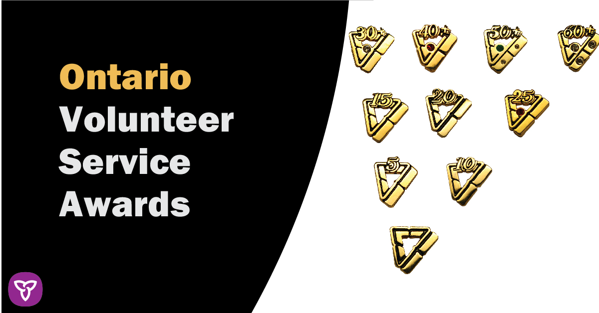 Forty-Five volunteers from SD&G recognized by province