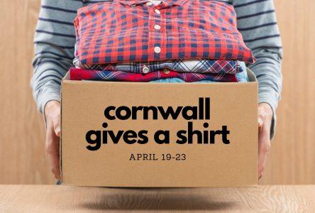 Cornwall Gives A Shirt next week