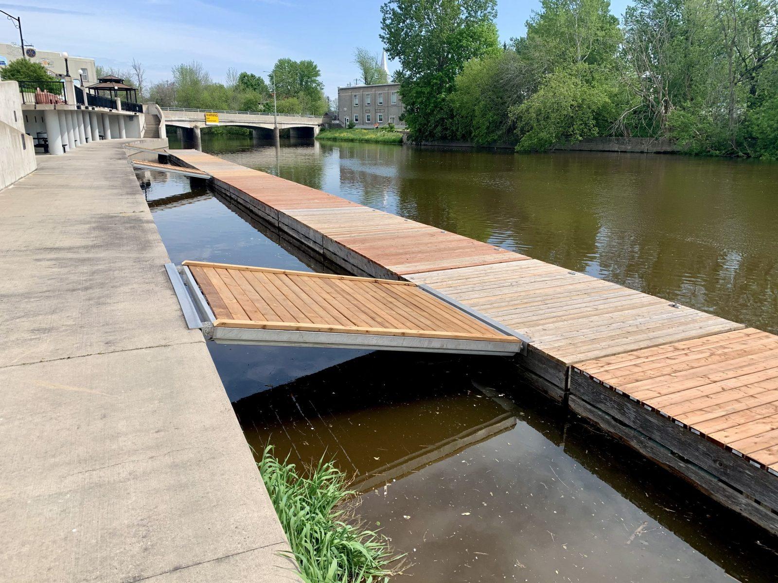 Les aires de conservation et les rampes de mise à l'eau de la CNS sont ouvertes