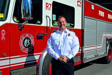 Cornwall embauche un nouveau chef adjoint du service d'incendie