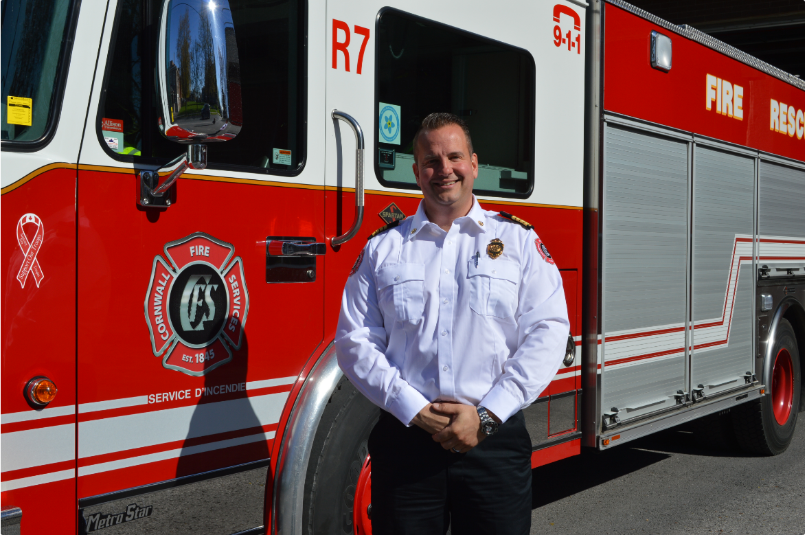 Cornwall hires new Deputy Fire Chief