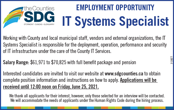IT SYSTEMS SPECIALIST