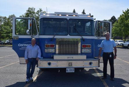 Re-purposed fire truck a savings for the City
