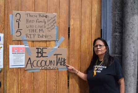 Descendant of residential school survivors remembers lost children