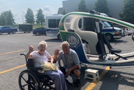 Celebrating 107 with a ride