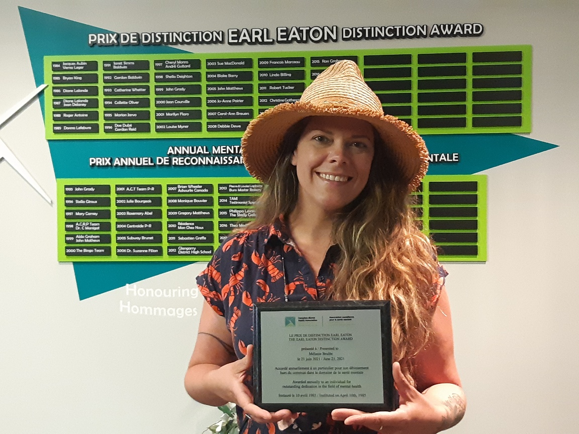 Local mental health advocates recognized