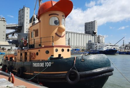 Theodore Tugboat Iroquois Lock passage likely July 7th