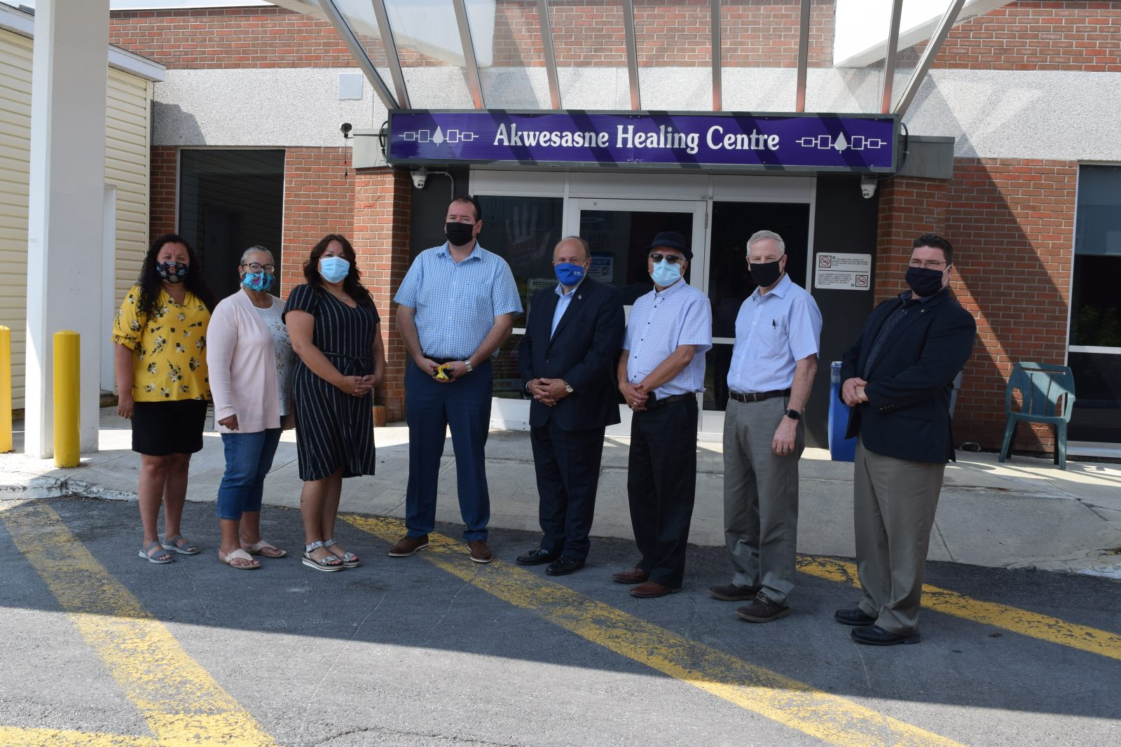 Associate Minister of Mental Health and Addictions tours Akwesasne, SD&G, and Cornwall