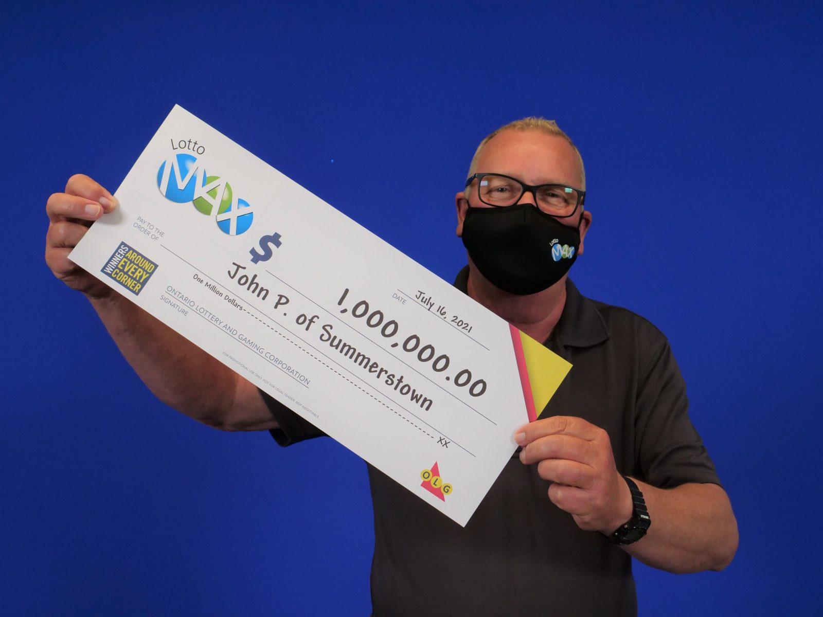 Summerstown man wins $1 million