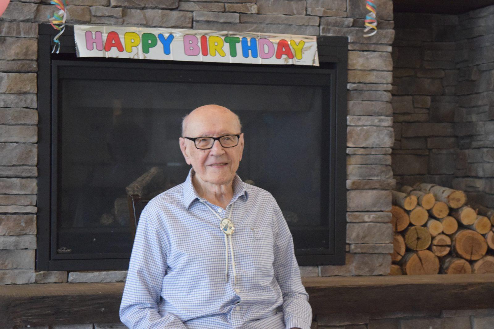 Rene Proulx celebrates 100 years