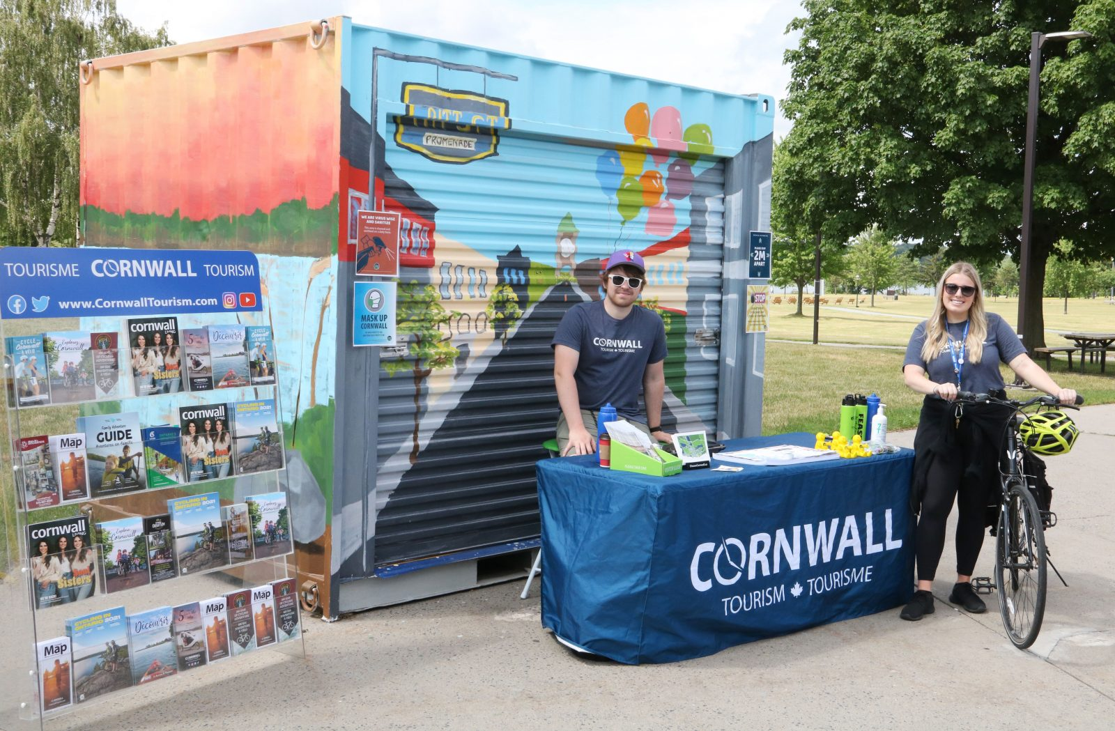Cornwall Tourism launches pop-up, mobile visitor info services