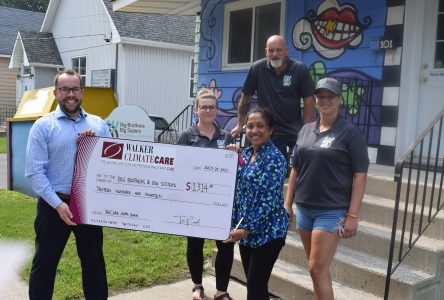 Walker ClimateCare supports Big Brothers/ Big Sisters Cornwall