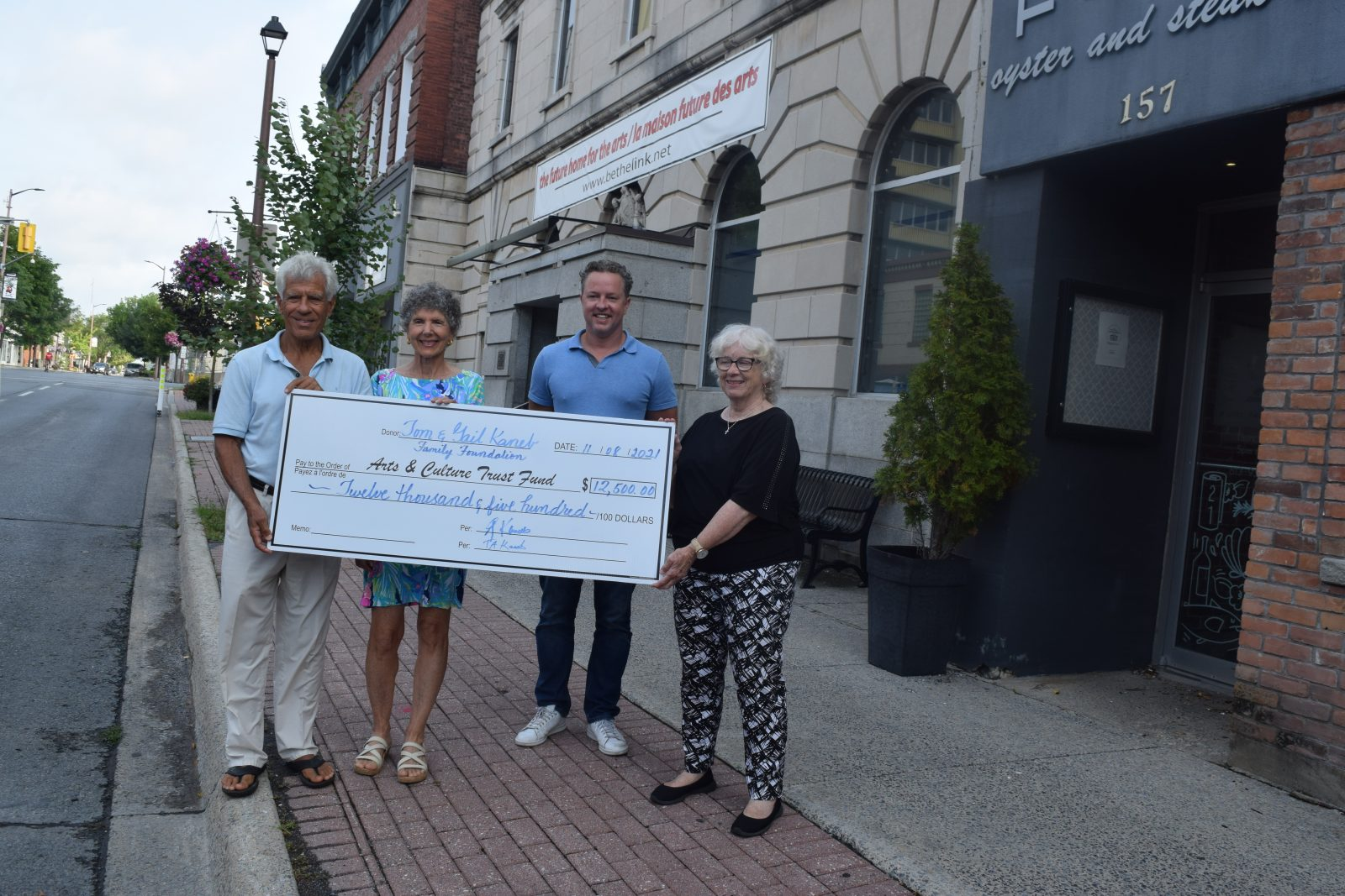 Kaneb family supports Arts Centre with $12.5K donation