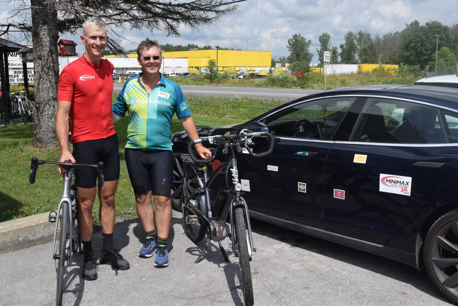 Cycling across Canada for mental health