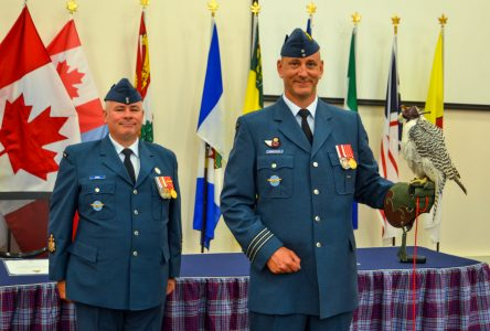 Change of command at CFSACO in Cornwall