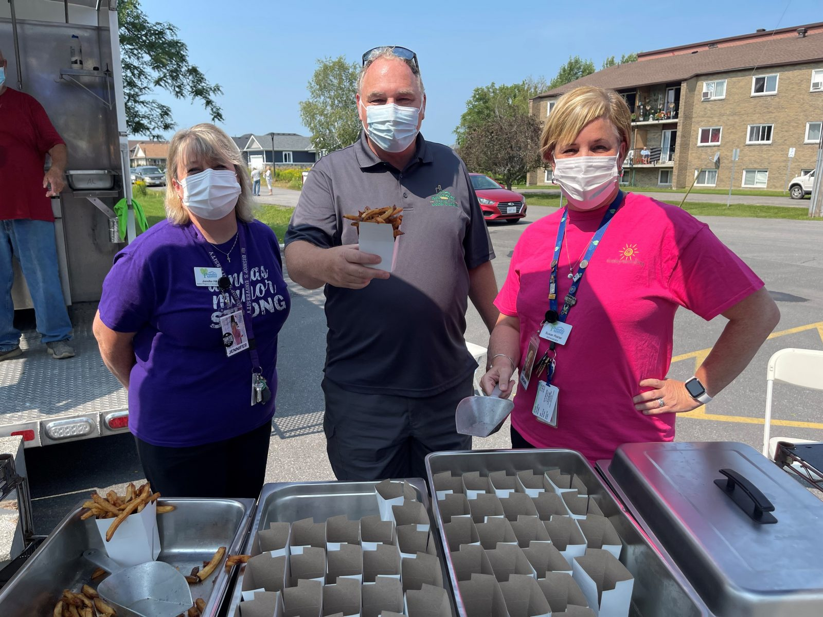 Fries for Charity raises $2000 for WDMH Foundation