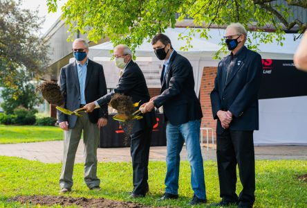 Ross Video breaks ground on new Iroquois production facility