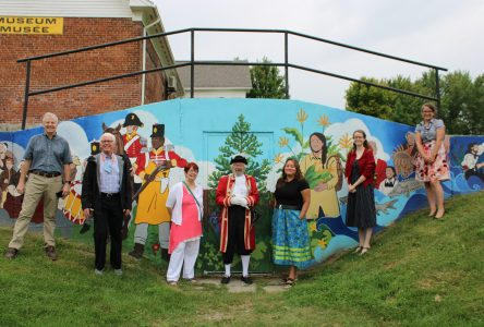 New mural unveiled at Cornwall Museum