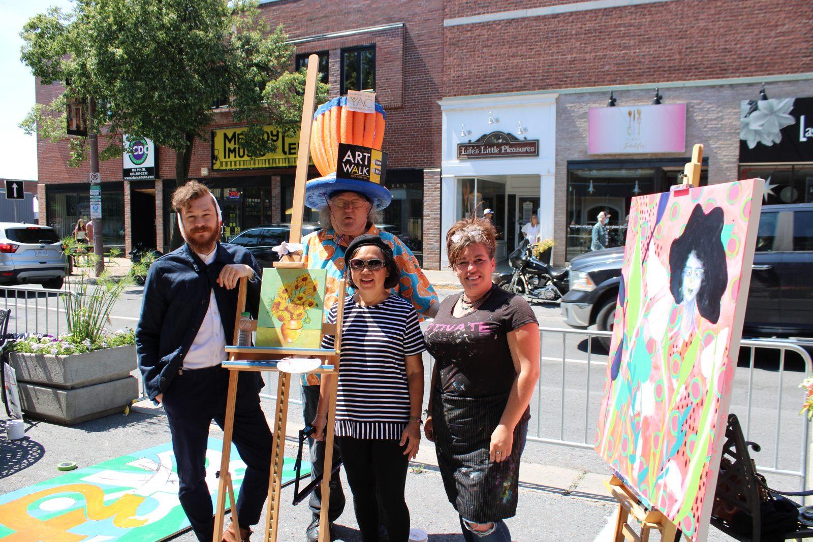 Art-A-Thon raises funds for Cornwall Art Walk