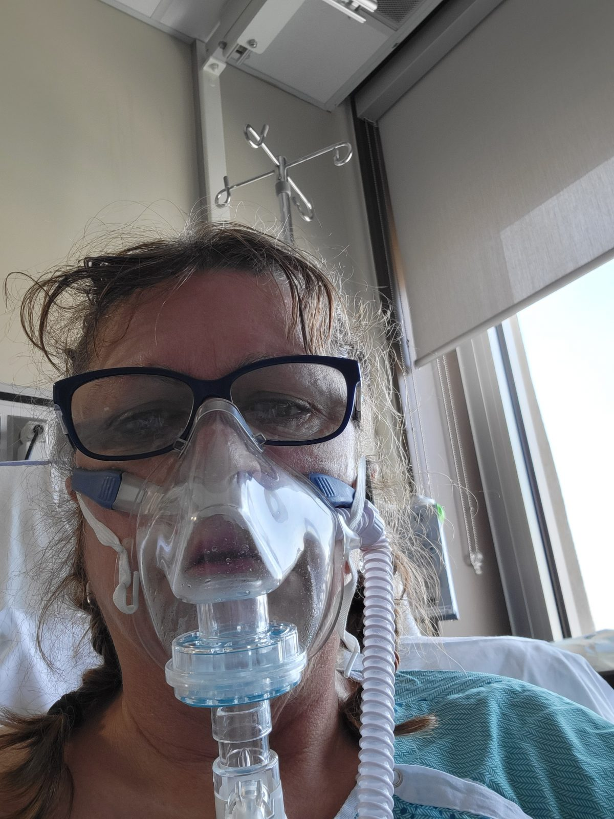 Reality of contracting COVID-19 and being in an ICU at the CCH