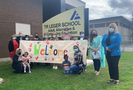 TR Leger welcomes new Canadians